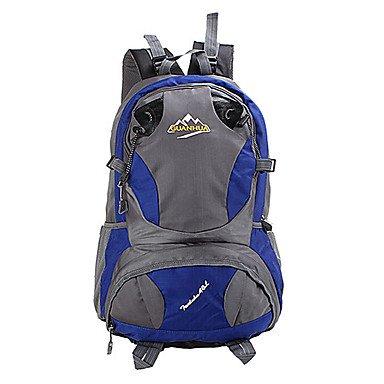 40 L Rucksack Klettern Freizeit Sport Camping & Wandern Wasserdicht Staubdicht tragbar Multifunktions Orange
