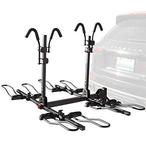 BV HR 4-Bike Bicycle Hitch Mount Rack Carrier for Car Truck SUV