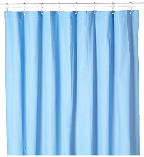 Sealskin 217001121 Duschvorhang, Granada, 120 x 200 cm (Blau Vinyl Duschvorhang)