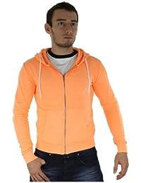 RATIO_S-CORAIL - Gilet à capuche - Cabaneli - unisexe - Corail - Orange, S