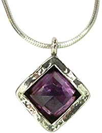 551b18a9c Special SHABLOOL ISRAEL Didae Handcrafted Amethyst Sterling Silver 925  Necklace