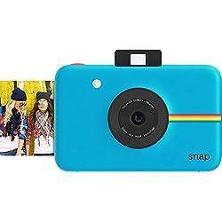 Polaroid Snap - Appareil Photo Numérique Instantané avec la Technologie d'Impression Zink Zero Ink, 10 Mp, Bluetooth, Micro Sd, 5 x 7,6 cm, Bleu