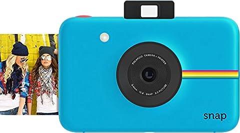 Polaroid Digitale Instant Snap Kamera (Blau) mit ZINK Zero Ink Technologie