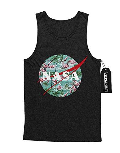 "Tank-Top ""NASA LOGO FLAMINGOS"" K123454 Schwarz"