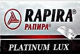 5 lames de rasage Rapira Platinum Lux - Créer votre Selection