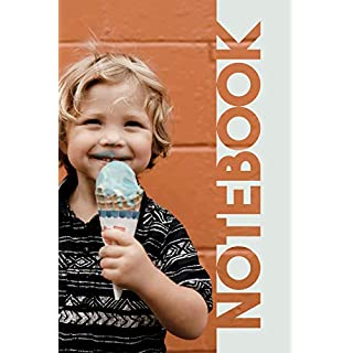 Notebook: Ice Cream Cone Handy Composition Book for Frozen Dessert Fans