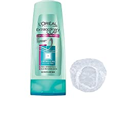Loreal Extraordinary Clay Puridying & HyDrating Conditioner 175 ml + shower cap