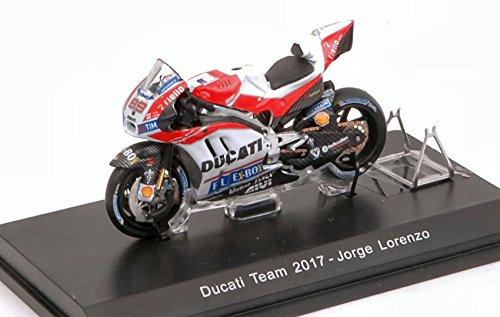 DUCATI GP17 JORGE LORENZO 2017 N.99 TBC GP 1:43 - Spark Model - Moto - Die Cast - Modellino