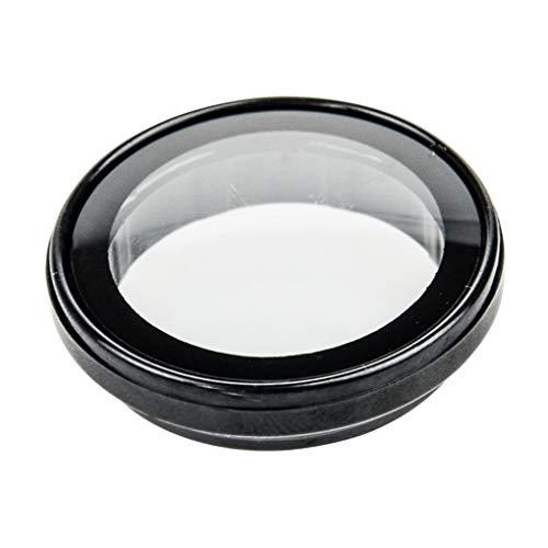 Uokoki UV-Filterabdeckung Objektiv Ersatz für SJCAM SJ4000 SJ4000 Plus-Tätigkeits-Kamera-Schutz optischer Glas-Objektiv-Abdeckung - Registrieren Abdeckung