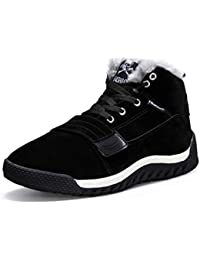 Botas De Nieve para Hombre Calzado De Invierno Zapatillas De Deporte Casuales con Botines CáLidos De
