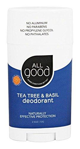 Elemental Herbs - Tutti gli buoni albero & basilico del tè del deodorante - 2,5 (Deodorante Buoni)