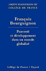 Pauvreté et développement dans un monde globalisé (Collège de France)