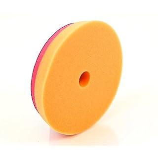 autobrite Direct 5060430151623korrekte ES Schneiden Spot Pad, Orange, 135mm