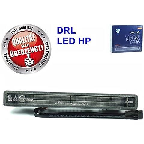 Top qualità M Tech luce diurna a LED 959hp luce ld959, molto profondo con tecnologia HP LED con E4di omologazione E Corpo in alluminio grande (180mm L x 20mm H x 41mm T)