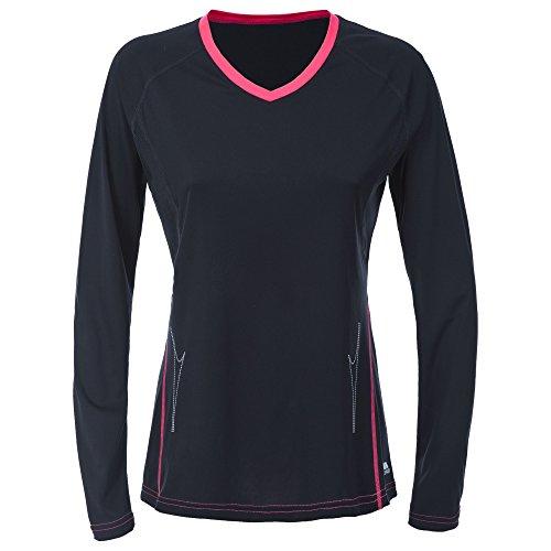 Trespass - Clemie Active - maglietta a maniche lunghe - Donna Nero