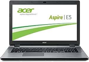 Acer Aspire E5-771-323D 43,9 cm (17,3 Zoll) Notebook (Intel Core i3-4005U, 1,7GHz, 4GB RAM, 1008GB SSHD, Intel HD Graphics 4400, DVD, Win 8.1) silber
