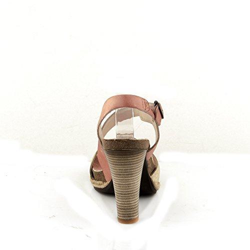 Felmini - Scarpe Donna - Innamorarsi com Dania 8977 - Sandali - Pelle Genuina - Multicolore Multicolore