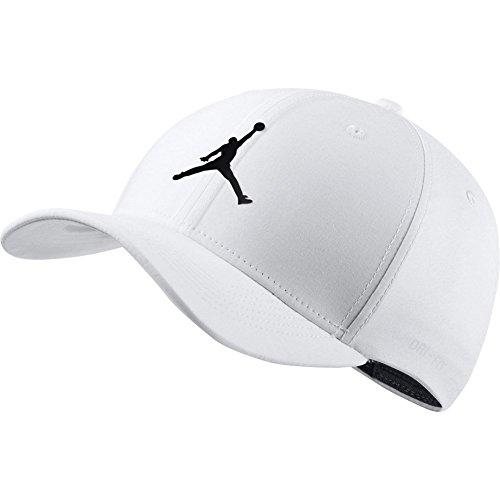 online store dce86 6f376 Nike Herren Jordan Jumpman Clc99 Woven Kappe, Black, S M