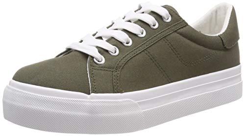 Tamaris Damen 1-1-23602-22 722 Sneaker, Grün (Olive, 39 EU