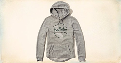new-hollister-mens-grey-hoodie-size-x-large