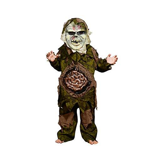 Yqihy Halloween Cosplay Kostüme für Kinder Jungen Big Belly Intestine Zombie Party Horror (Big Baby Kostüm Frauen)