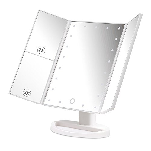 herwiss-lighted-makeup-vanity-mirror-with-180-degree-rotation-stand-up-three-way-featuring-1x-2x-3x-