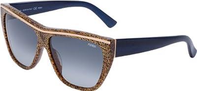 Michael Kors - Gafas de sol Rectangulares M2839S Beth para mujer, 001