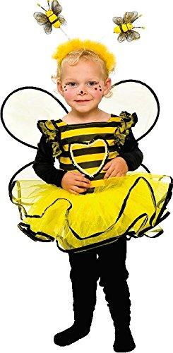 Baby und Kleinkinder Kostüm Biene zu Karneval Fasching (Für Kostüme Karneval Kleinkinder)