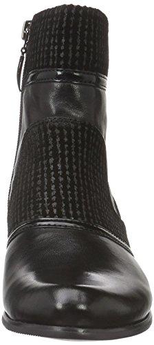 PIAZZA - 9615, Stivali a metà polpaccio con imbottitura leggera Donna Nero (Nero (nero))