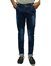 SLim Fit Blue Jeans For Men And Boys(used For Party Wear,Casual Wear) Comfort Inside,Latest Trendy Jeans For Men...