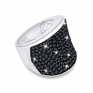 Elli Damen-Ring Größe 54mm 925 Sterling Silber 06400622
