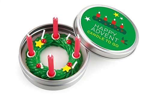 Donkey Kerze in Blechdeckeldose, Advent, Candle to go, 220459