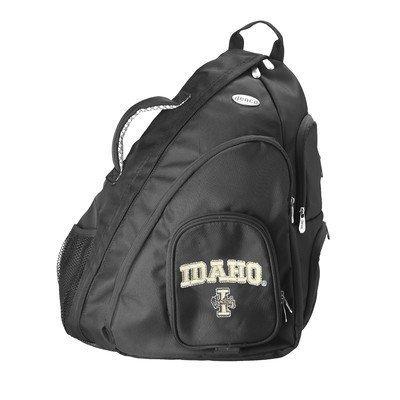 ncaa-idaho-vandals-travel-sling-backpack-19-feet-black-by-denco