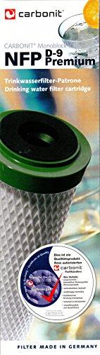 Carbonit NFP Premium D-9 cartucho de filtro para SanUNO DUO Vario con más gracias a su diseño de río