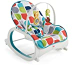 Fisher-Price - Hamaca Crece Conmigo, Multicolor (Mattel FWX17)