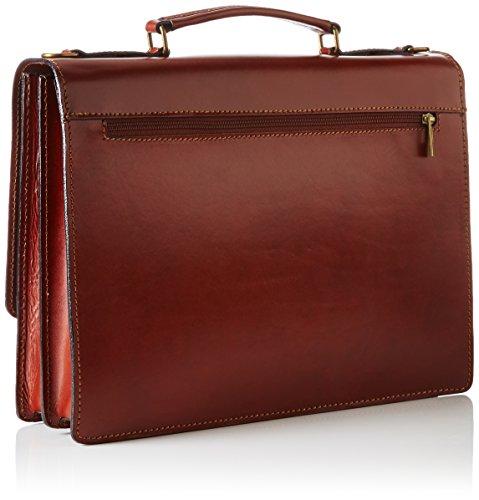 Bags4Less Unisex-Erwachsene Herrentasche Laptop Tasche, 8x30x40 cm Braun (Braun)