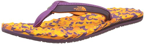 The North Face Damen Base Camp Mini Flip Flops, Mehrfarbig (Brown/Coral), 41 EU