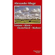 Fontane-Kleist-Deutschland-Büchner. Zur Grammatik der Zeit (SALTO)