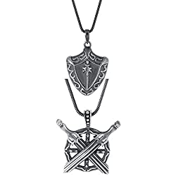 Bold Combo Pack of Sword Style Pendants