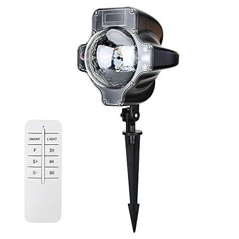 Lampe de projecteur de Noël RGB Maple Light Lampe mobile