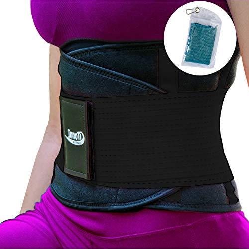 InnoTi Faja Lumbar Hombre Mujer - Cinturón Protector
