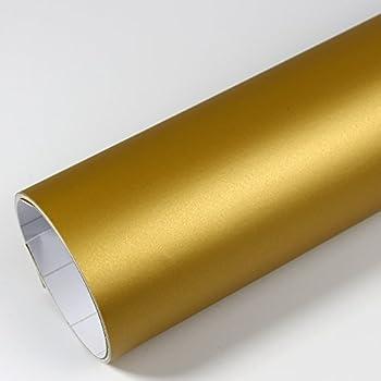 Klebefolie dekorfolie d547 gold matt 60cm breite k che haushalt - Klebefolie mobel gold ...