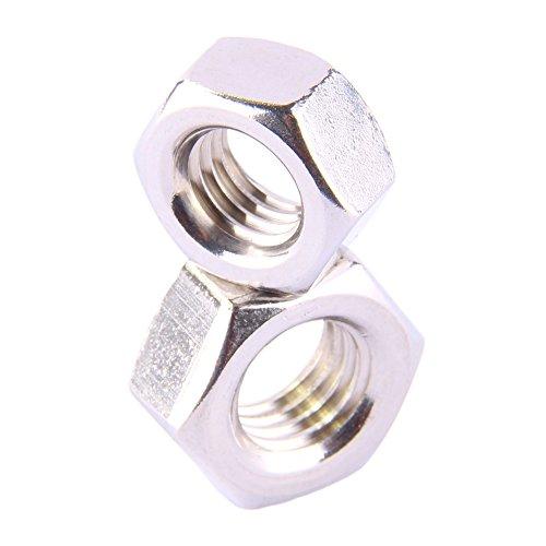 D´s Items® | Sechskantmuttern (Standard) - M16 - DIN 934 - Edelstahl A2 - [20 Stück] - | Sechskant-Muttern V2A -