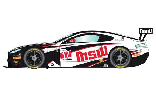 Scalextric C3844 Aston Martin Vantage GT3 TF - Coche Deportivo