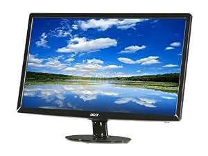 Acer S242HLABID 60,9 cm (24 Zoll) Slim LED Monitor (VGA, DVI, HDMI, Kontrast 12.000.000:1, 2ms Reaktionszeit)