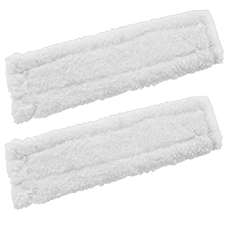 Spares2go Spray Bottle Glass Cleaner Pads for Karcher Window Vac Vacuum (Pack of 2)