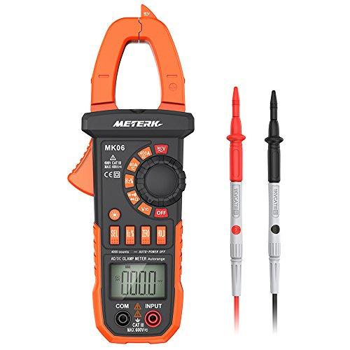 Pinza Digital Multímetro ,Meterk medida amperímetro ohmímetro