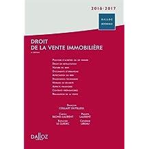 Droit de la vente immobilière 2016/2017 - 1re édition