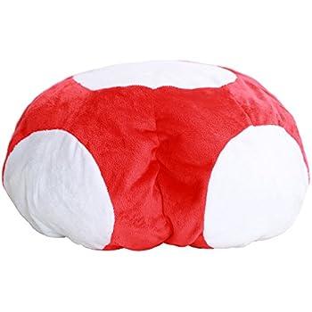 Dailygocn Mario Luigi Cappello Cosplay Pilz Cappello Rosso /& Bianco Mushroom Style Cappello Adulto Halloween Costume Carnevale Vestiti Accessori