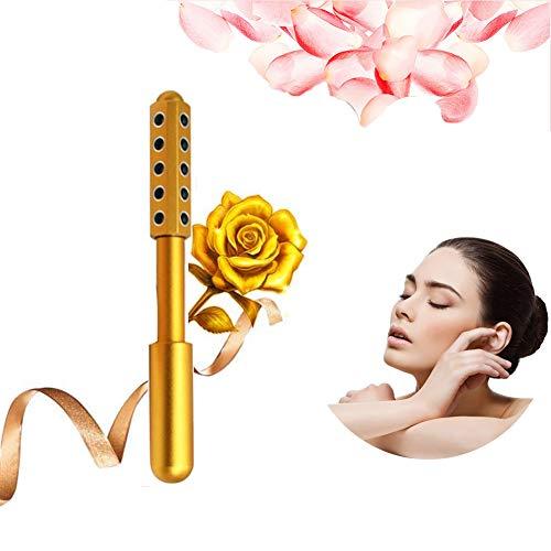 Gesichts Massagegerät, Ergonomisch Gestaltet, Um Die Gesichtsmuskeln Schnell Zu Entspannen Dunkle Augenringe Zu Entfernen Und Eine Straffende Wirkung Auf Die Haut Zu Erzielen